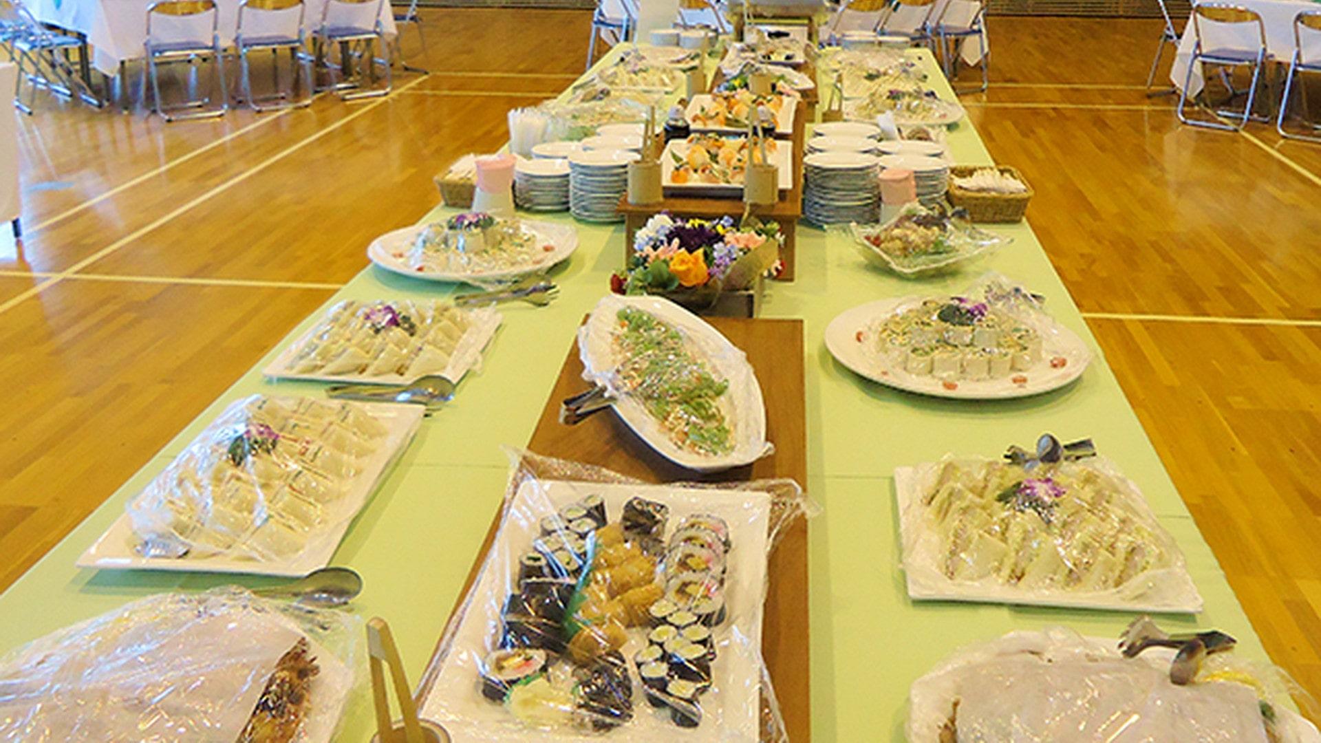 出張ケータリングオリジナル送別会・謝恩会・卒園式・卒業式ビュッフェパーティープラン #2